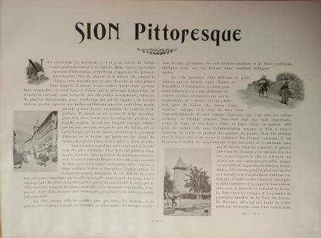 [Livraison 7]: *Sion pittoresque