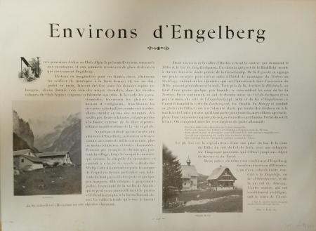[Livraison 13]: *Environs d'Engelberg