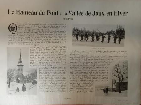 [Livraison 23]: Le *Hameau du Pont et la Vallée de Joux en Hiver