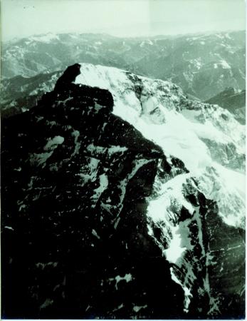 Versante sud e ovest dell'Aconcagua