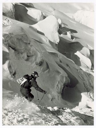 II Raid Blanc, Cervinia - Les Arcs organisé par Thierry Sabine Organisation du 14 au 21 mars 1987