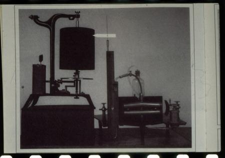 Strum[enti] per studio [dell']apparato circolatorio utilizzati da Angelo Mosso