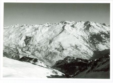 Da la Grande Chible, i pendii del Mont Brequin