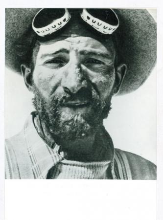 Hermann Buhl al ritorno dal Nanga Parbat