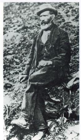 """[Autore non identificato, ritratto di] Jean-Antoine Carrel, il """"bersagliere"""""""