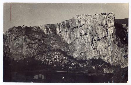 La parete est del Monte Colodri
