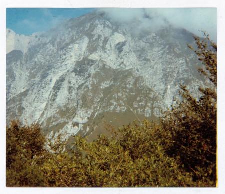 [Riprese varie del Monte Chiampon e territorio circostante]