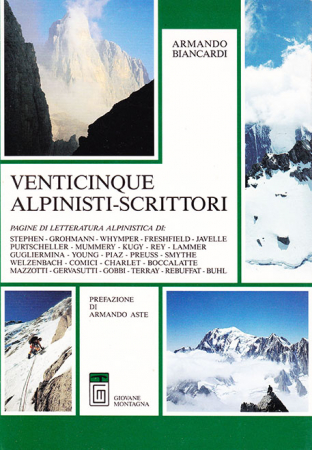 Venticinque alpinisti scrittori