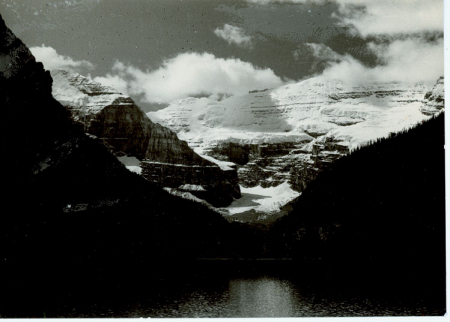 Lake Louise, Mount Lefroy, Mount Victoria
