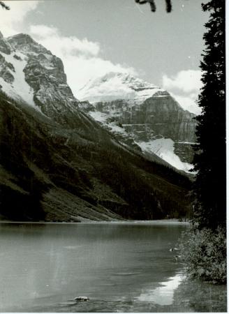 Lake Louise, Mount Lefroy, Mount Mitre