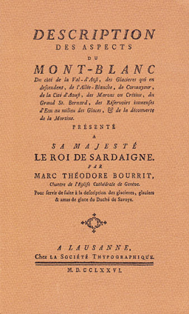 Description des aspects du Mont Blanc