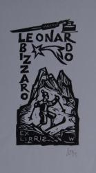 Leonardo Bizzaro Ex libris