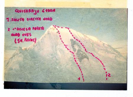 Quitaraju 6100 m
