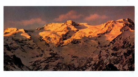 [Cartoline con riprese varie della Catena del Monte Rosa]