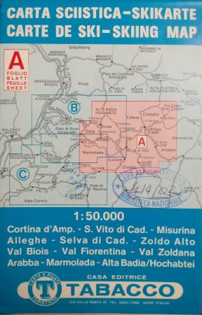 Foglio A: Cortina d'Amp[ezzo]-S. Vito di Cad[ore]-Misurina...