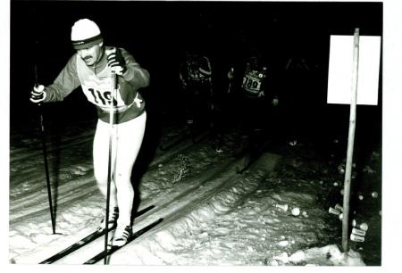 [Riprese varie di sci di fondo tra cui la II edizione della 24 ore di Pinzolo, 1981]