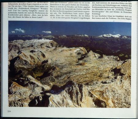 [Riproduzione di pagina di libro: Steinernes Meer (Voralberg)]