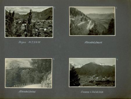 Südtirol sommer 1932