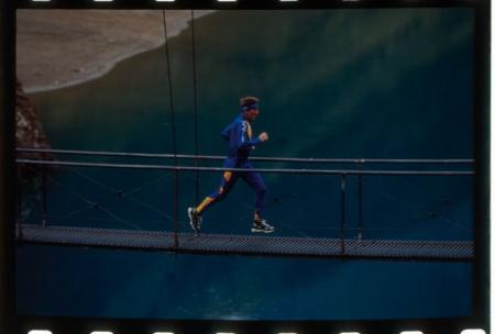 Il Lago di Mornasco (VB). Jean Pellissier in allenamento