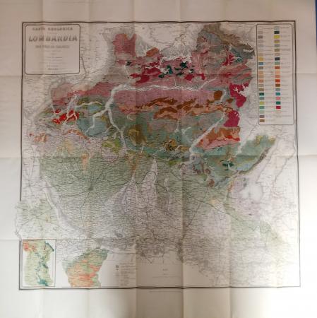 Carta geologica della Lombardia