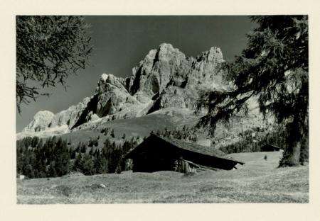 Serie di 12 fotografie estive del Passo Carezza