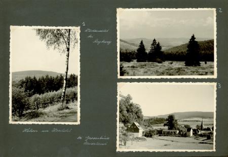 Urlaubsfahrt 1958. Bergisches Land u. Sauerland