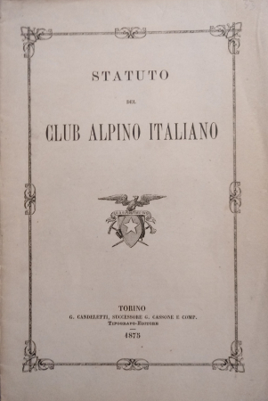 Statuto del Club alpino italiano