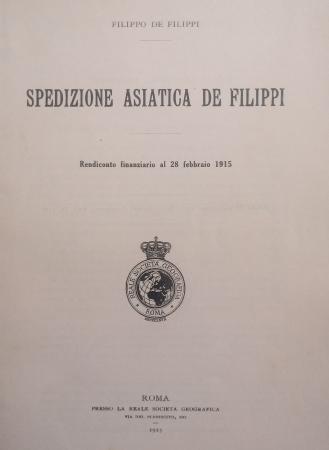 Spedizione asiatica De Filippi