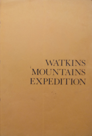 Watkins Mountains expedition