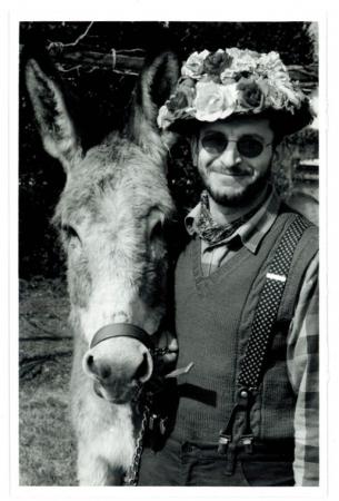 [Ritratto di uomo con mulo]