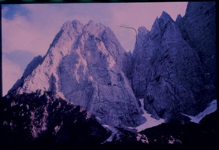 [Riprese varie di arrampicata sulle Alpi Carniche: gruppo Sernio-Grauzaria]