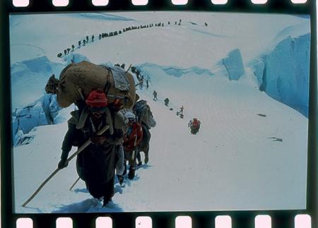 [Riprese varie di spedizioni al Gasherbrum I-II, Everest, K2 di Quota 8000, Esprit d'Equipe, EV-K2-CNR; Laboratorio-Osservatorio Internazionale Piramide; ritratti di Agostino Da Polenza]