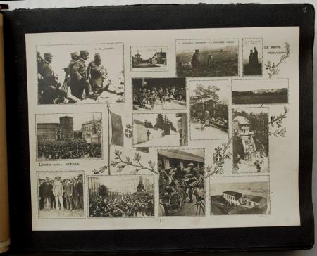 Album-ricordo della Guerra italiana