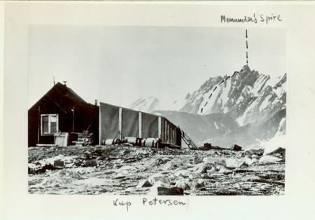 Menander's Spire visto da Kap Petersen