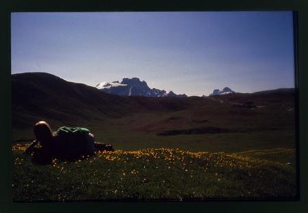 [Riprese varie di escursioni sull'Altopiano di Sennes (trek Croda Rossa)]