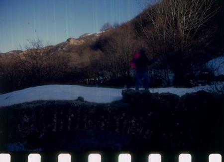 [Riprese varie di sci di fondo escursionistico sull'appennino tosco-romagnolo]