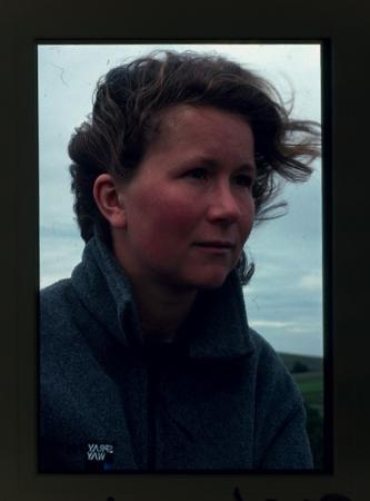 [Ritratti di Alison J. Hargreaves e la stessa durante imprese alpinistiche]