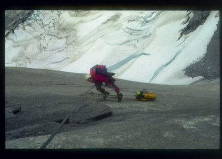 [Riprese varie di alpinismo in Patagonia]
