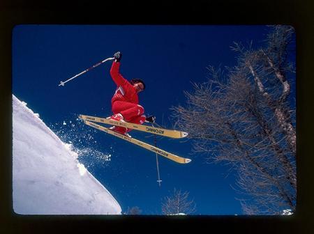 Skieur Thierry Donard
