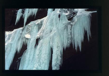 [Cascate di ghiaccio: arrampicata sui Monti della Laga]