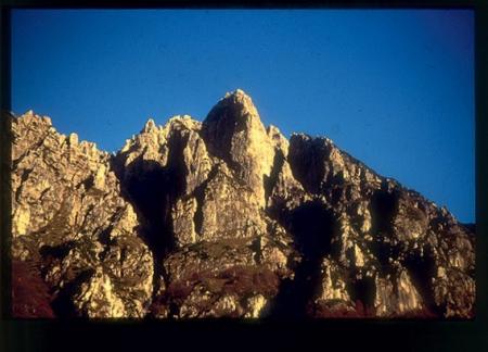 [Riprese varie di arrampicata sulle Piccole Dolomiti, gruppo del Fumante]