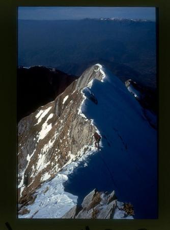 [Alpinismo sulle Alpi Apuane; cave di marmo]