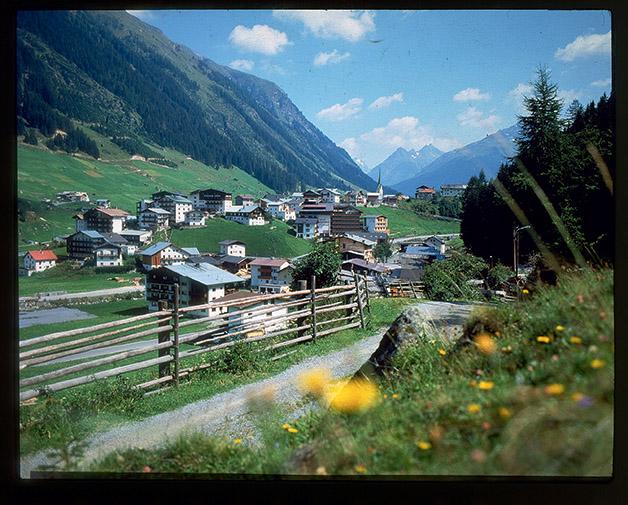 [Paesaggi e itinerari turistici in Austria: regione di Paznaun-Ischgl e Alpi dello Stubai]