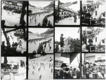 [Riprese varie tra cui banchi del mercato e due edizioni della Marcialonga in Val di Fassa nel 1971 e 1972]