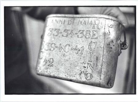 [Rossos (Russia): Museo dedicato agli alpini della seconda guerra mondiale. Riprese delle gavette italiane, lettere dal fronte e ritratti dei reduci]