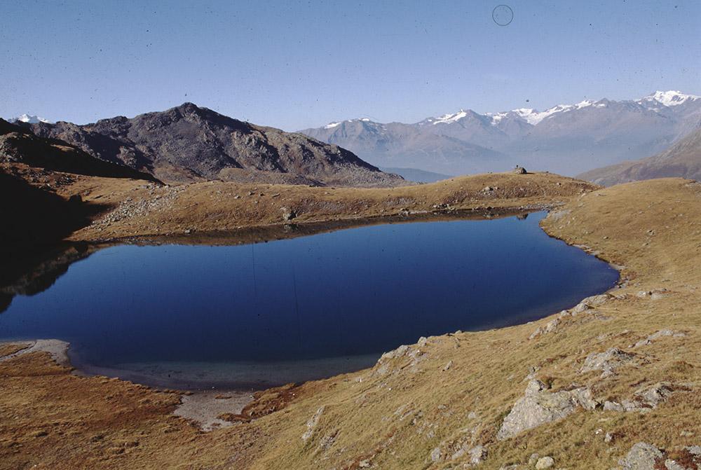 [Paesaggi ed escursionismo sulle Alpi Retiche; persone non identificate]