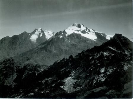 Monte Stanley e Monte Baker dalla punta Stairs