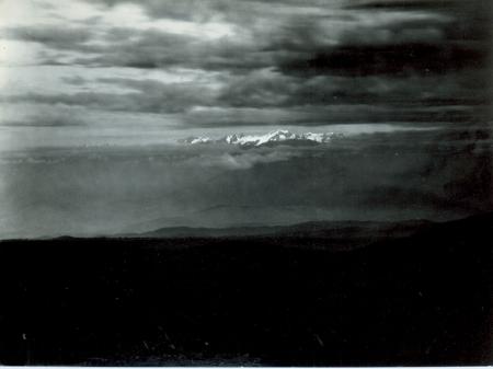 Telefotografia del Ruwenzori visto da Butiti