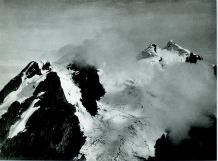 Monte Stanley dalla punta Edoardo del monte Baker