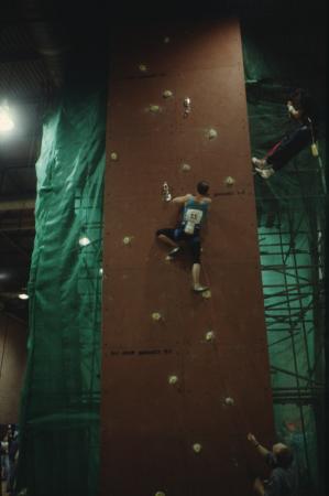 [Competizioni di arrampicata a Leeds]
